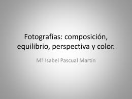 Fotografías composición, equilibrio y perspectiva