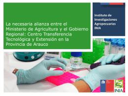 Centro Transferencia Tecnológica y Extensión en la Provincia