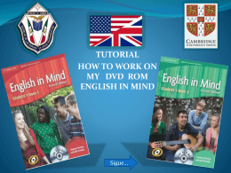 tutorial how to work on my dvd rom english in mind