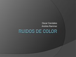 Ruidos de color
