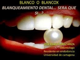 BLANCO O BLANCOX BLANQUEAMIENTO
