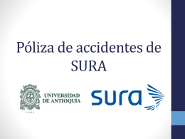 Amparos y reportes de accidentes