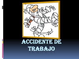 Accidente de trabajo - finanzasycontabilidad