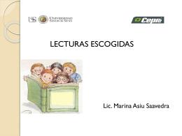 LECTURAS_ESCOGIDAS