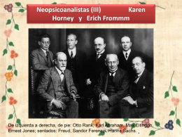 horney y fromm - WordPress.com