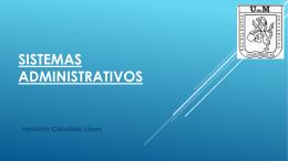 Presentación Sistema Administrativo