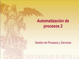 Tareas automáticas - Fundamentals of BPM