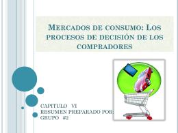 CAPITULO VI Mercados de consumo