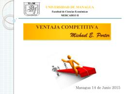 mercado ii 5 encuentro - Universidad de Managua