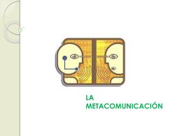 La metacomunicacion (322276)