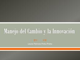 Manejo del Cambio y la Innovación