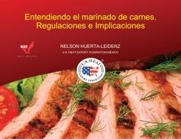 """Nelson Huerta: """"Entendiendo el marinado de carnes"""