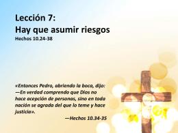 El amor es todo lo que necesitamos 1 Juan 3.11-24