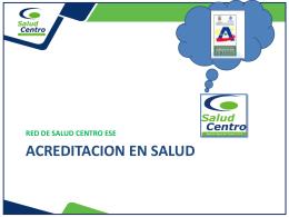 Humanización - Red de Salud del Centro