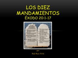 ppp.LOS DIEZ MANDAMIENTOS