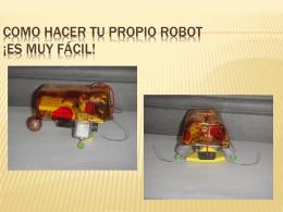 crea tu propio robot