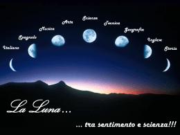lavoro per l`esame di licenza scuola secondaria: La Luna