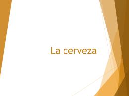 La cerveza - WordPress.com