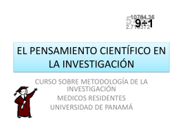 Método científico según Mario tamayo y tamayo