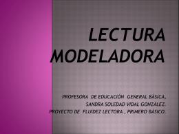 LECTURA MODELADORA (402593)