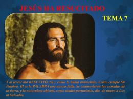 JESÚS HA RESUCITADO