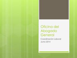 Procedimientos Administrativos de Abogado General