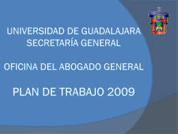 Abogado General - Universidad de Guadalajara