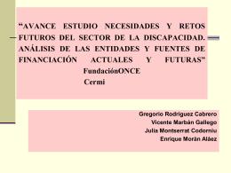 PONENCIA G. RODRÍGUEZ CABRERO