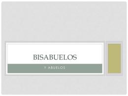 Bisabuelos