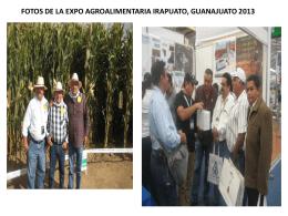 fotos de la expo agroalimentaria irapuato, guanajuato 2013
