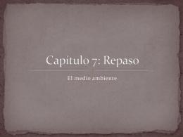 Capítulo 7: Repaso