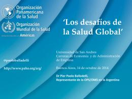 Las negociaciones en salud global