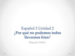 Sp3 Unidad 2 Repaso FINAL