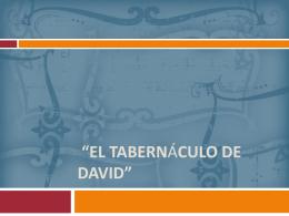 el tabernaculo d david