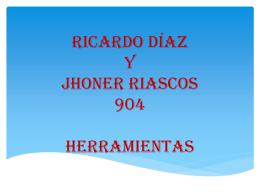 HERRAMIENTAS (1080590) - Brayan Diaz y johner riascos