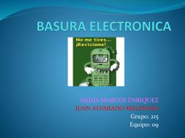 BASURA ELECTRONICA - jn