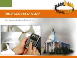 presupuesto de la iglesia