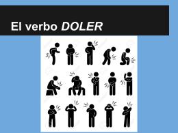 El verbo DOLER
