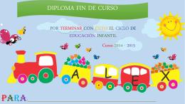 diploma fin de curso - Imagenes Educativas