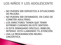 COMO ENTENDER A LOS ADOLESCENTES