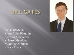 ¿Quién es Bill Gates?