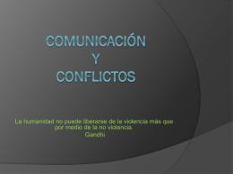 Comunicación de Conflictos