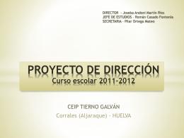 Presentación del PROYECTO DE DIRECCIÓN.p[...]