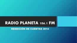 RADIO PLANETA 106.1 FM