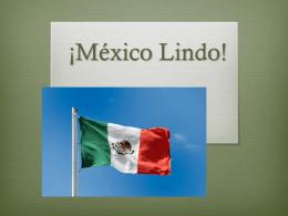 ¡México Lindo! - Beachwood City Schools