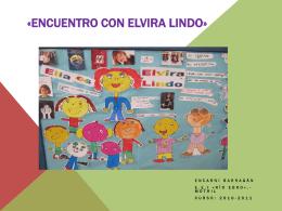 «Encuento con Elvira Lindo»