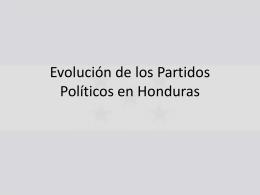 Partidos Políticos - Historia