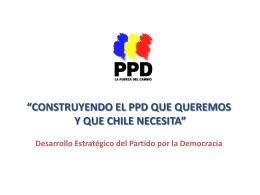 Desarrollo Estratégico del Partido por la Democracia