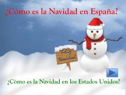 ¿Cómo es la Navidad en España?