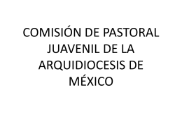 Jóvenes - Vicaría de Pastoral